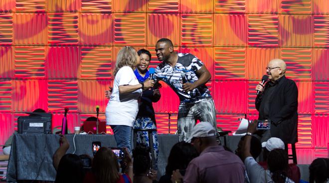 2017 Allstate Tom Joyner Family Reunion: Sky Show Featuring Tamar Braxton & 112