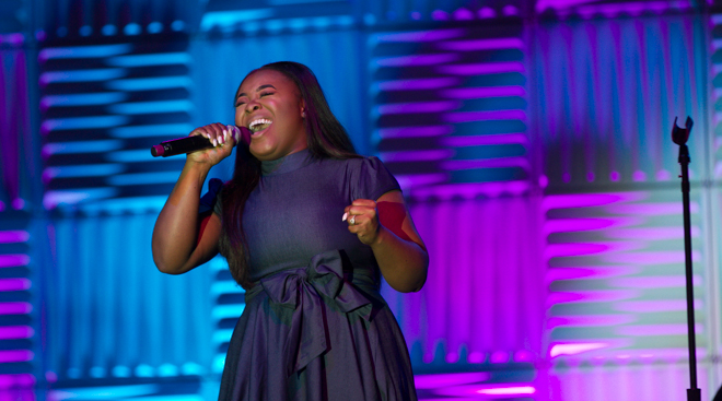 Jekalyn Carr, T.C. Carson & John Henton take the EXPO Stage