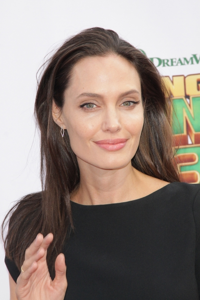 Angelina Jolie tested positive for the breast cancer gene BRCA1 in 2014. As a result she had a double mastectomy.