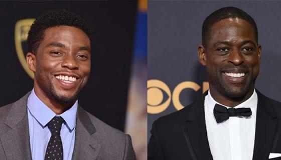 Sterling K. Brown & Chadwick Boseman