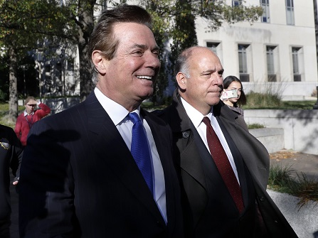 Former Trump Campaign Aide Paul Manafort