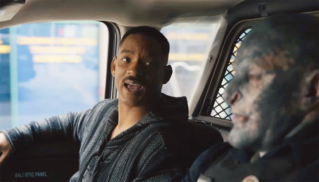 Will Smith Protects L.A. From Dark Forces In New Netflix Film
