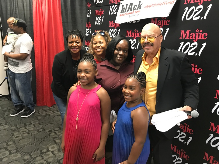 Tom Joyner Donates $50,000 to 50 Houston Families Affected by Hurricane Harvey