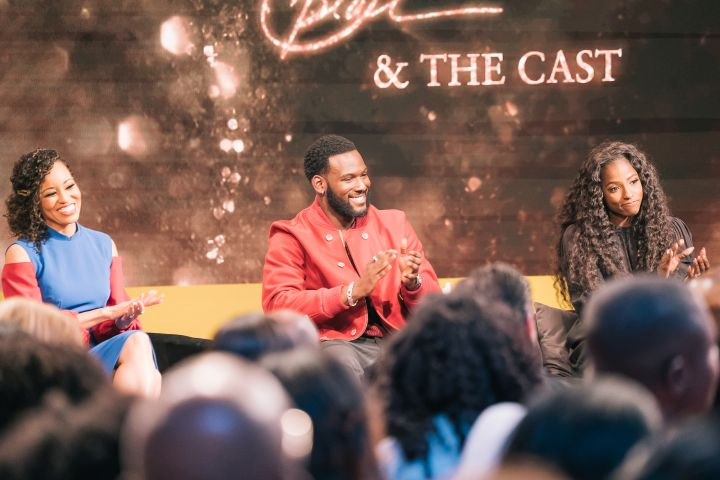 Kofi, Dawn and Rutina take questions at the 'Queen Sugar' Finale event