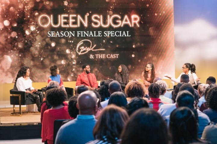 The cast of 'Queen Sugar' and Oprah