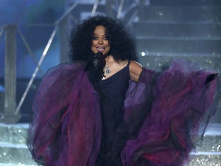 Diana Ross Honored At American Music Awards