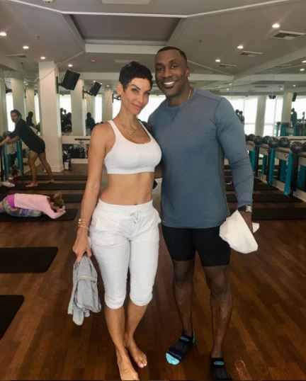 nicole murphy and shannon sharpe