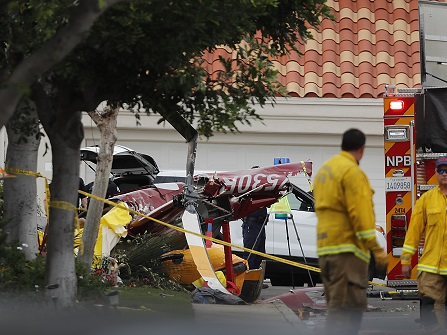 3 Dead, 2 Injured As Helicopter Crashes In California Home