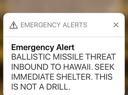 Hawaii Worker Sent False Missile Alert Thinking It Was Real