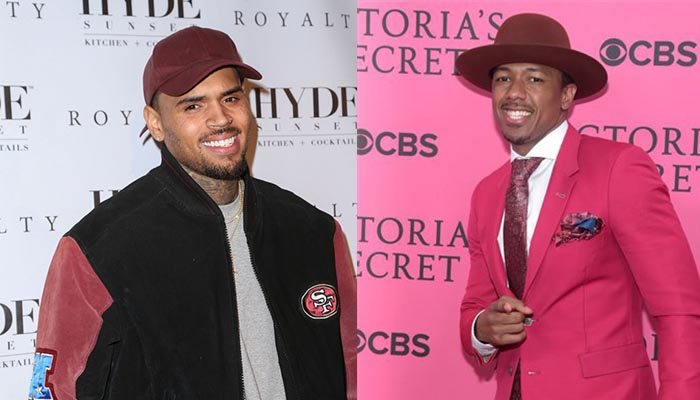 bbb454b436b0aa Nick Cannon is responding to the furor over his collaboration with Chris  Brown on the forthcoming women s basketball film