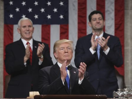 Trump Talks Immigration, Economy In State Of The Union Address [FULL SPEECH]