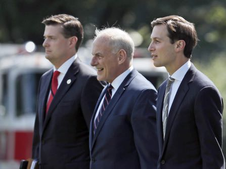 John Kelly Under Pressure After Trump Aide Resignation