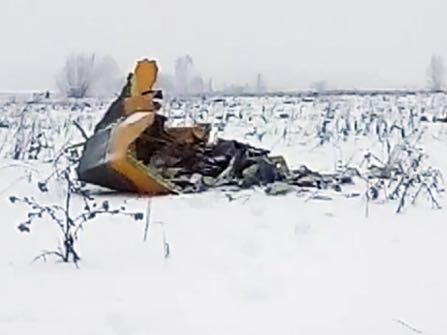 Russian Airline Crash Kills 71