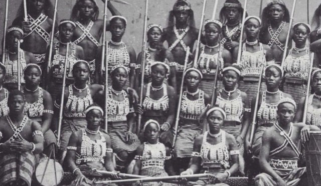 Image result for dahomey all female battalion