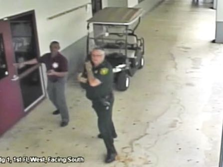 Video Shows Florida Sheriff's Deputy Remained Outside School Shooting