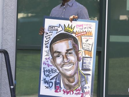 Emotions Run High At Wake For Stephon Clark