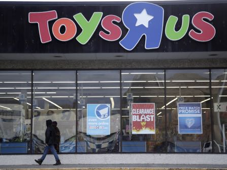 Say It Ain't So: Toys R Us Shutting Down U.S. Stores