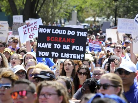 Gun Control March Is Largest Youth Protest Since Vietnam