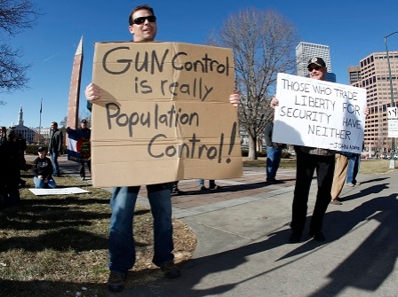 Gun Rights Supporters Are Okay With Unloaded Rifles At Rallies
