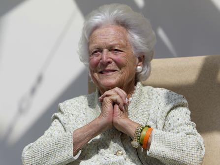 Former First Lady Barbara Bush In Failing Health