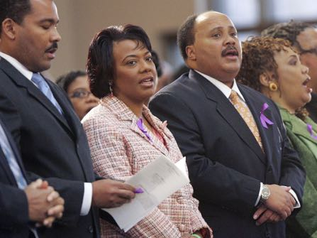 Rev Martin Luther King Jr S Children Still Struggling With His