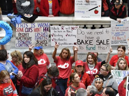 Teacher Rebellions In Republican States Force Showdowns