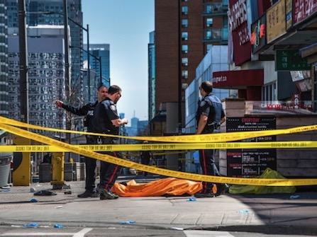 Van Runs Onto Toronto Sidewalk, Killing 10, Injuring 15