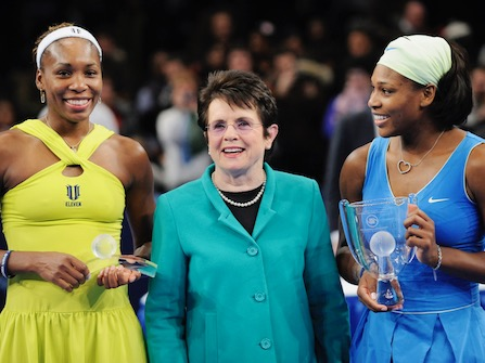 Williams Sisters Join Tennis Legend In Equal Pay Initiative