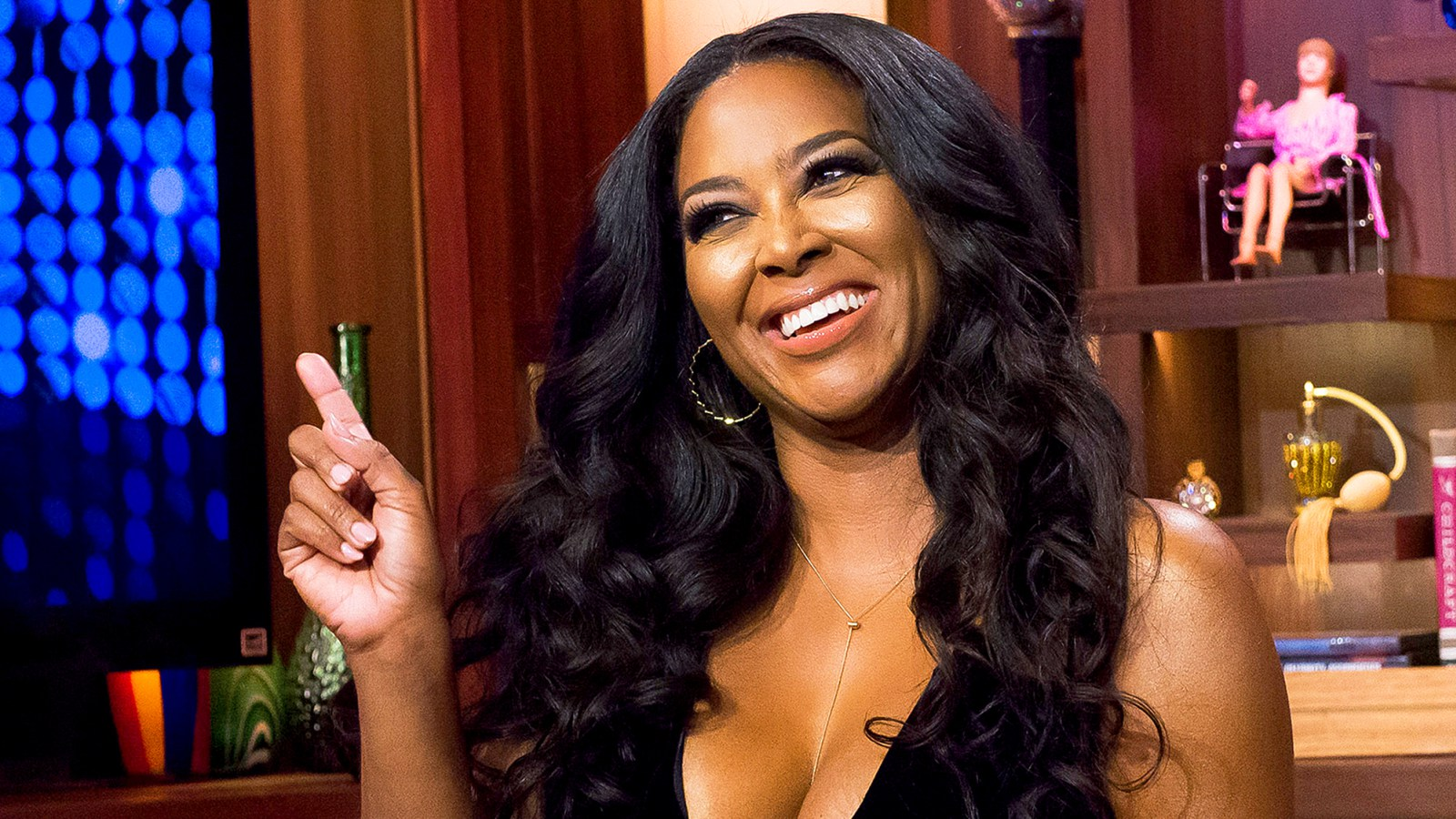 Kenya Moore: Pregnant Realty TV Star Says She Weighs Over 200 Lbs