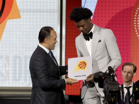 Phoenix Suns Win NBA Draft Lottery, Will Have #1 Pick