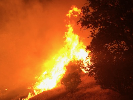 Wildfires Blaze Across California Again