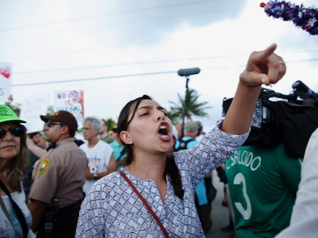"""Trump Says Mexican """"Invaders"""" Should Be Sent Back Without Court"""