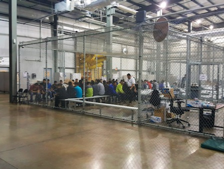 Hundreds Of Migrant Children Held In Cages At Border Patrol
