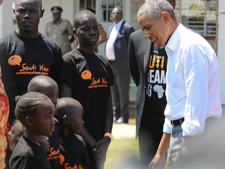 President Obama Heads To Kenya To Help Sister Open Center