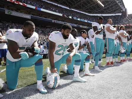 NFL, NFLPA Freeze Anthem Rules Amid Backlash To Miami Policy