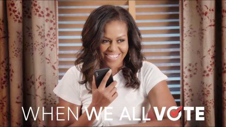 Michelle Obama Launches New Voter Registration Initiative