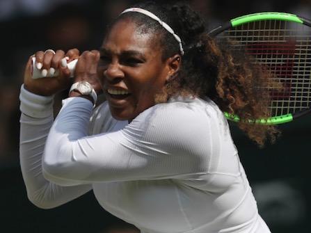 Serena Williams Advances To 10th Wimbledon Final
