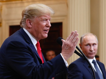 Trump Shocks The World With Support Of Putin, Even Conservatives Are Outraged