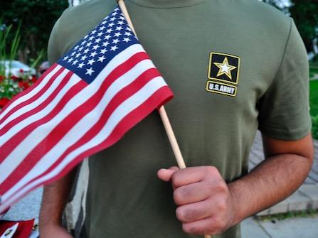 U.S. Army  Firing Immigrant Recruits