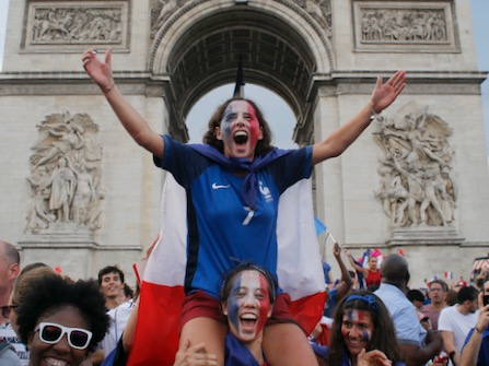 Paris Is LIT After World Cup Victory (And Jay Z, Beyonce, Michelle And Sasha Were There, Too!)