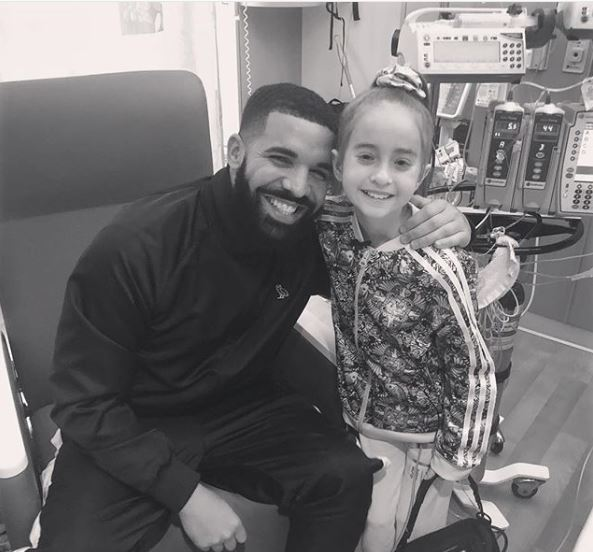 Drake Surprises 11-Year-Old Heart Surgery Patient Who Did Kiki Challenge Down Hospital Hallway