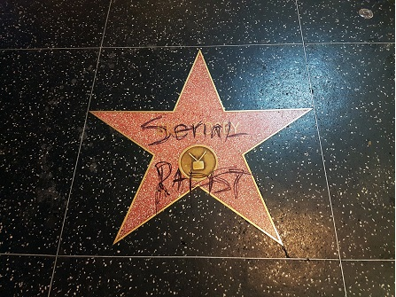 Bill Cosby's Hollywood Walk Of Fame Star Vandalized With Graffiti