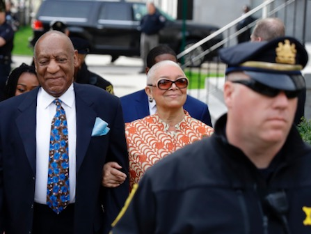 Judge Denies Cosby Request To Step Down; Sentencing Is Monday