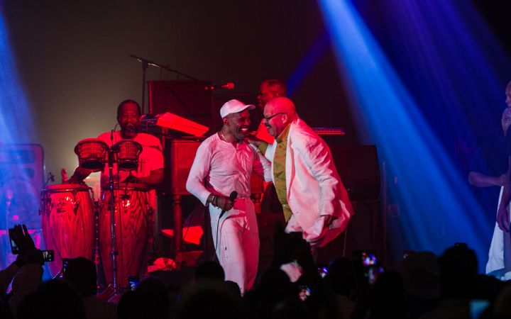AARP Presents Maze Featuring Frankie Beverly at the 2018 Allstate Tom Joyner Family Reunion