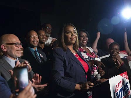 Letitia James Wins Primary For New York Attorney General