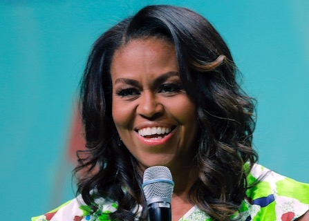 Michelle Obama Admits She Cried When Sending Sasha Off To College