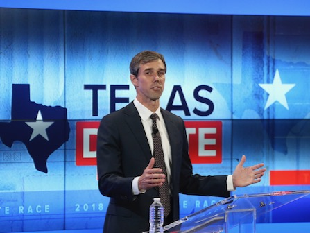 Beto O'Rourke Uses Town Hall To Try To Unseat Ted Cruz In Texas Senate