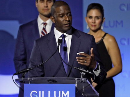 Andrew Gillum Says Trump Is Trying To Undermine Democracy By Opposing Recount