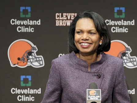 Browns Have Not Discussed Condoleezza Rice As Coach