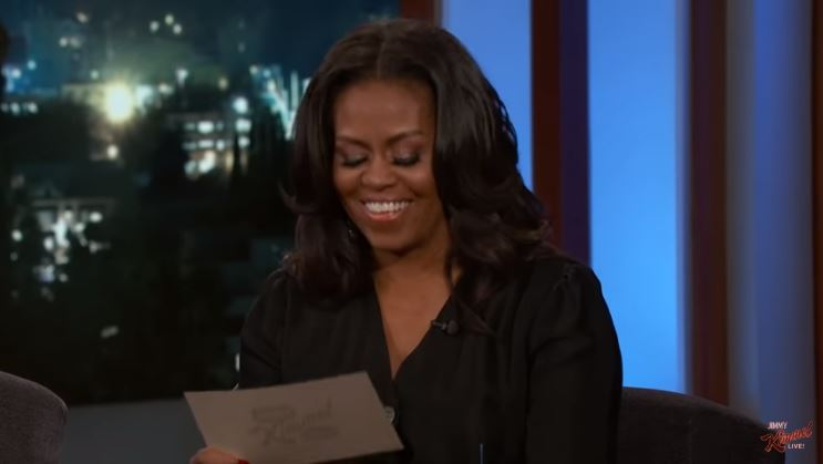 Jimmy Kimmel Gets Michelle Obama To Say Things She Couldn't Say As First Lady [Video]